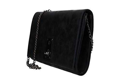 VN2368 black for MOON ceremonies pochette metallic Purse woman MICHELLE opening zwHIxqyF1c