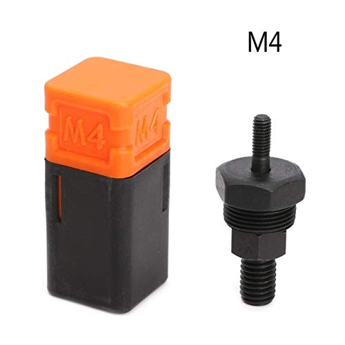 Tool Parts Riveter Gun Part Threaded Mandrel Replacement For Hand Nut Rivet Metric M3-M12 - (Color: M4)