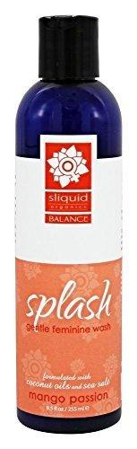 Sliquid Splash Natural Feminine Wash Grapefruit Thyme 8.5 oz by, (Sliquid Splash)