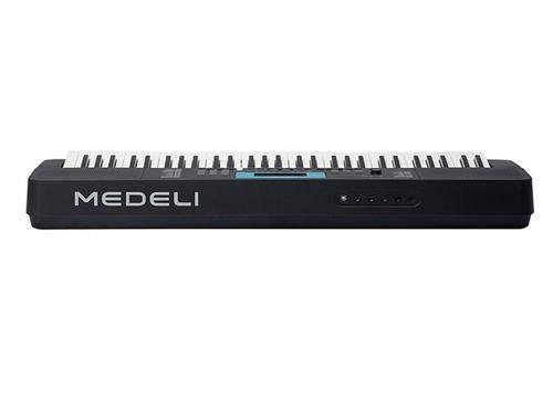 Teclado Electrónico Portátil Medeli M211K - 61 Teclas Sensibles - USB Midi - Pantalla LCD - 320 Voces - 200 Estilos - Polifonía 32: Amazon.es: Instrumentos ...