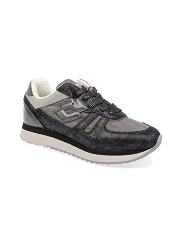 T4628 Black Suede Sneakers Women's Lotto UH4xgg