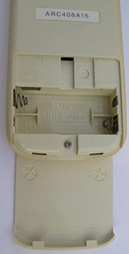 ダイキン エアコンリモコン ARC408A15
