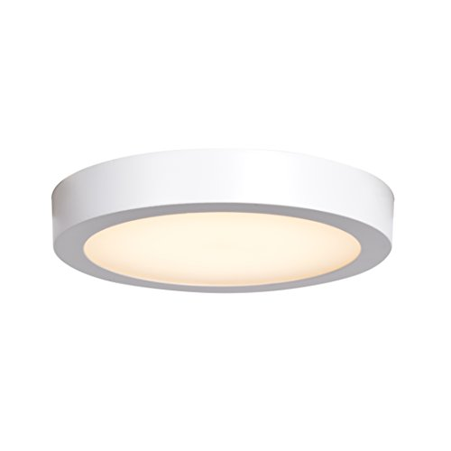 Aluminum Outdoor Ceiling Fixture - Ulko Exterior LED Outdoor Flush Mount - 9