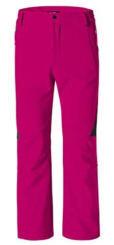 Wantdo Women's Ski Snow Insulated Fleece Softshell Windproof Pants Rose Red US M (Racing Ski Pants)