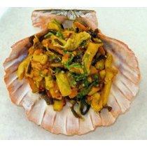 Calamari Salad (Chuka Ika Sansai), Frozen - 4.4 Lb