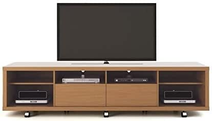 Manhattan 15354-MC Comforts Cabrini - Soporte para televisor (2,2 Pulgadas, Arce, Crema y Apagado), Color Blanco: Amazon.es: Hogar