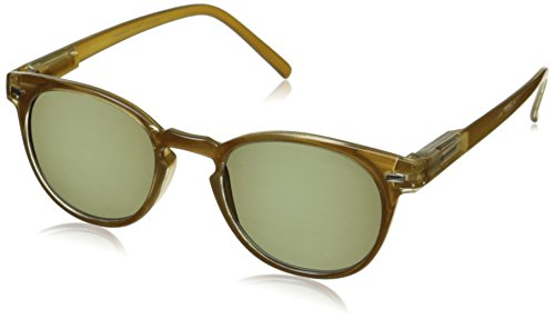 Peepers Boho Reading 2.50 Round Sunglasses, Butter Rum, 47 mm 2.5
