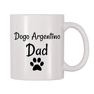 4 All Times Dogo Argentino Dad Coffee Mug (11 oz) 33