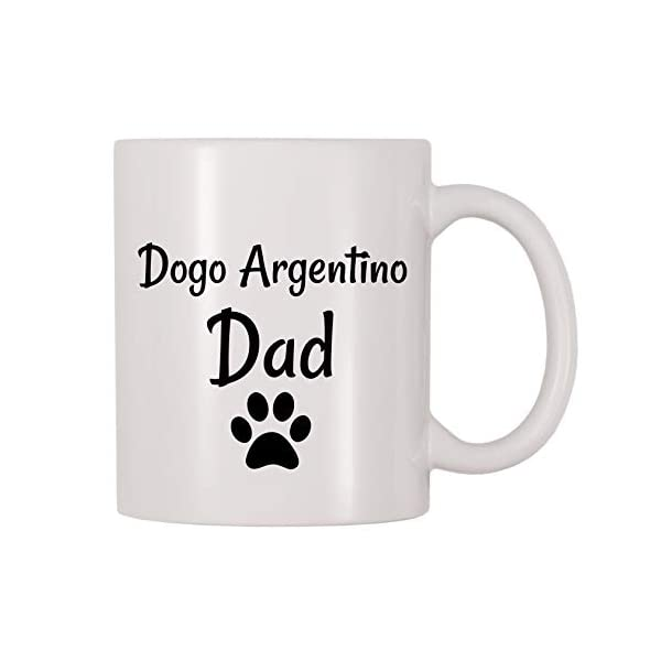 4 All Times Dogo Argentino Dad Coffee Mug (11 oz) 1