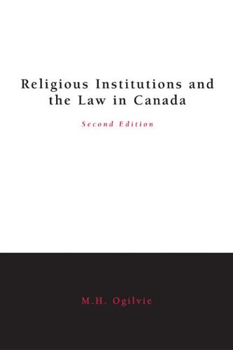 Religious Institutions and the Law