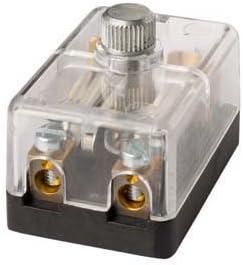 Hella 8jd 002 289 211 Sicherungsdose 2 Polig 8a Glasklar Stecker Schraubkontakt Mit Sicherung Auto