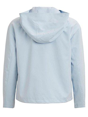 Celeste Azul Vimolly Vila Jacket Short Azul Chaqueta cROBU6Tq