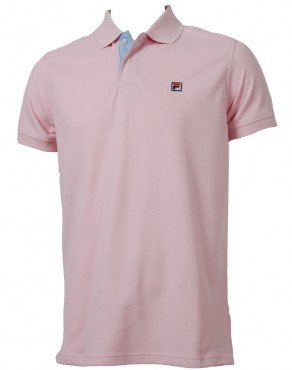 e05a00ce Fila Vintage Simon Polo Shirt - Pink - Large: Amazon.co.uk: Clothing
