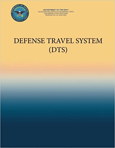 defense travel system dts department of the navy 9781484976685