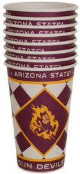Arizona State Sun Devils Paper Cups Set (Sold by 1 pack of 24 items) PROD-ID : 1891557