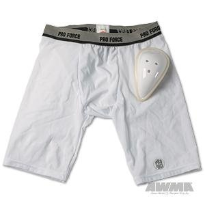 ProForce Compression Shorts w/ Cup - Boys Small - Waist: 20-23''