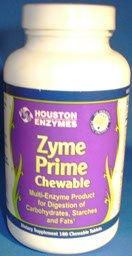 Houston Nutraceuticals Zyme Prime Multiple Enzyme Combination 180 Chewable Tablets