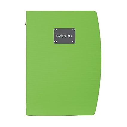 Verde Securit de grosor A4 soporte para cartas de menú 350 ...