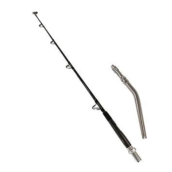 Daiwa TNB56MHF-DD Tancom Dendoh Casting Rod, 5 6 Length, 2Piece, 40-100 lb Line Rate, Medium Heavy Power