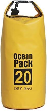 [スポンサー プロダクト]Time House 防水 ドライバッグ10L 15L 20L プールバッグ 防災バッグ 防水バッグ ビーチバッグ ドラム型 アウトドア dry bag 耐用年数2年間