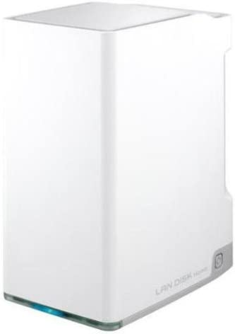 I-O DATA 3.5インチ2台搭載 ミラーリング対応 LAN DISK LAN&USB接続ハードディスク4.0TB HDL2-S4.0