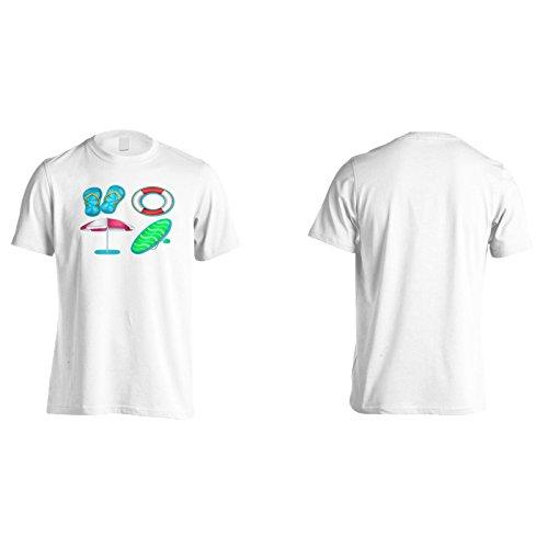 Neuer Strand Ozean Meer Urlaub Herren T-Shirt l329m