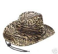 Faux Fur Leopard Print Velvet Cowgirl Cowboy ()