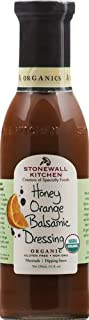 product image for Stonewall Kitchen Organic Honey Orange Balsamic Dressing, 11 Ounces