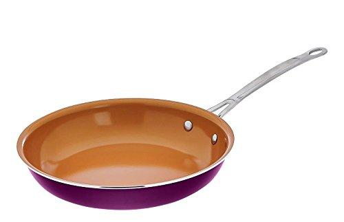 Ceramic Pan Steel Fry (Gotham Steel ceramic & Titanium Nonstick 10.25