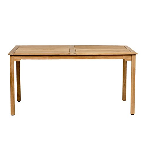 Cheap Amazonia Teak Maliana Teak Rectangular Dining Table