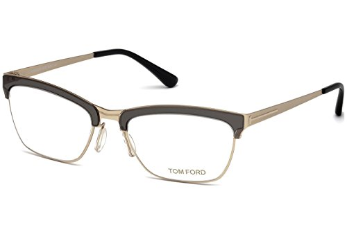 Tom Ford - FT 5392, Cat Eye, metal, women, MATTE GOLD GREY(020 A), - Frame Tom Eye Cat Optical Ford
