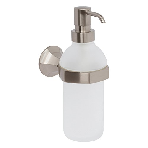(Ginger Empire Wall Mounted Soap Dispenser - 614/SN - Satin Nickel)
