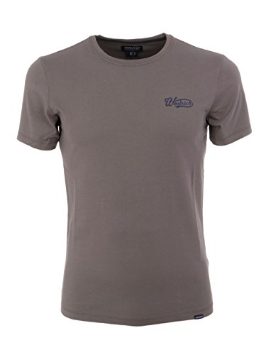 Woolrich Grigio Wotee11241669 T shirt Uomo Cotone HwxCRqHT