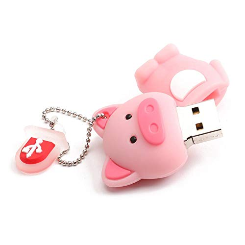 Cute Pig USB 2.0 Flash Drive U Disk Mini Memory Data Storage Stick (32GB) from Vipeco