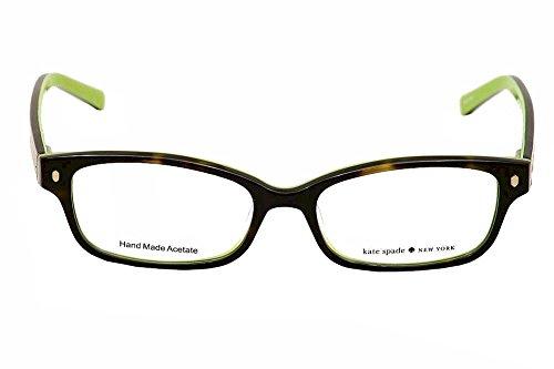 af131dce0068dc ... KATE SPADE Monture lunettes de vue LUCYANN 0DV2 Écailles Vert kiwi 51MM