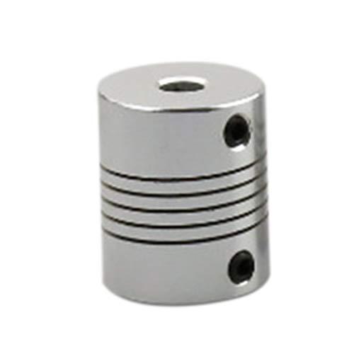 Accesorios de impresora 3D Aleación de aluminio flexible Acoplamiento elástico Acoplamiento de eje especial 5x8x25mm para...