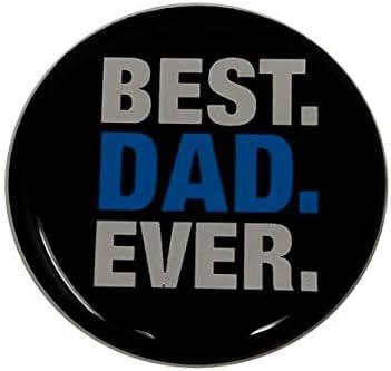 Best Dad Ever Imán para Nevera con Texto en inglés, Texto en ...