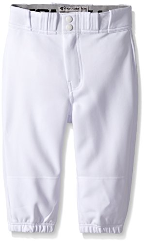 Knicker, White, Large (Knee Length Baseball Pants)