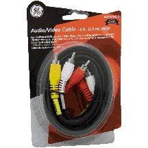 Jasco 73216 6' Nickel Audio Cable