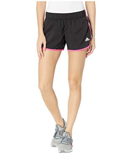 adidas Men's Running M10 Icon Woven Short, Black/Shock Pink/White/Bright Blue, Medium 4