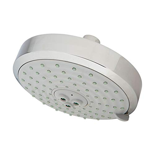 Newport Brass 2144 Traditional Multi Functional Shower Head with Five Spray Mode, Polished Chrome ()