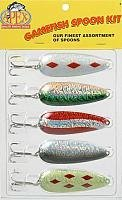 Apex Tackle Prism Gamefish Spoon Kit, Assorted Colors Gamefish Kit