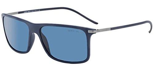 Giorgio Armani Men's AR 8034 5059/80 Frame: Blue / Lens: Blue 57mm Sunglasses