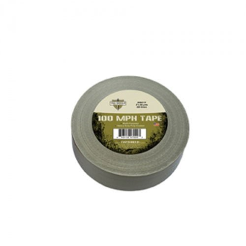 Tac Shield 2-Inch x 60-Yard Heavy Duty 100 Mph Tape, OD Green