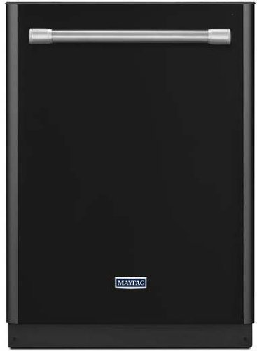 """24"""" 50dBA Built-In Dishwasher with 4-Blade Stainless Steel Chopper Finish: Black"""