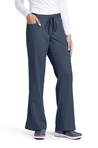 (Grey's Anatomy Women's 4232 Junior-Fit Five-Pocket Drawstring Scrub Pant)