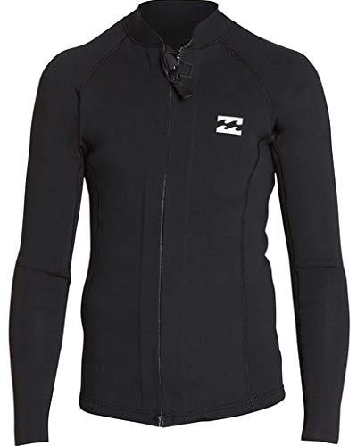 Billabong Boys' 2/2 Revolution Pump Front Zip Jacket Black 8