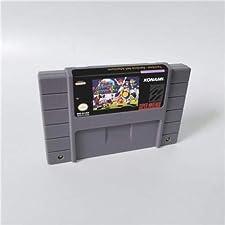 Game card - Game Cartridge 16 Bit SNES , Game Twin Bee Twinbee Rainbow Bell Adventure - RPG Game Card US Version English Language