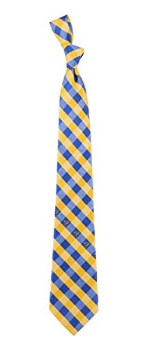 St. Louis Blues Check Polyester Neck Tie NHL Hockey Team Logo