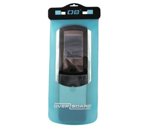 OverBoard Waterproof Phone Case, Aqua, Large/Long